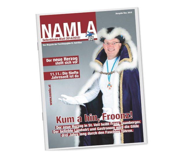 Faschingszeitung 2015; 40-seitig