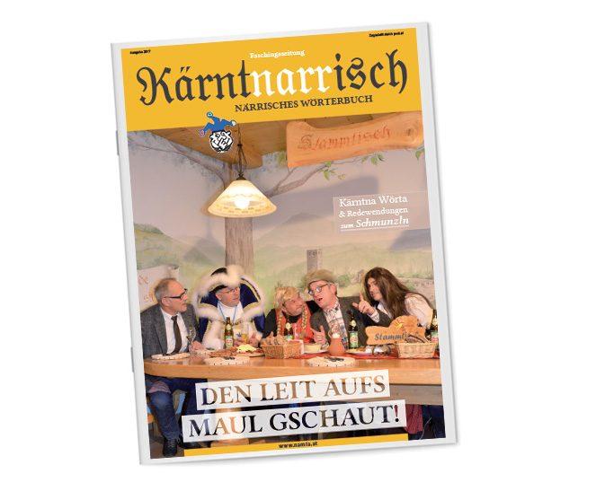 Faschingszeitung 2018; 40-seitig