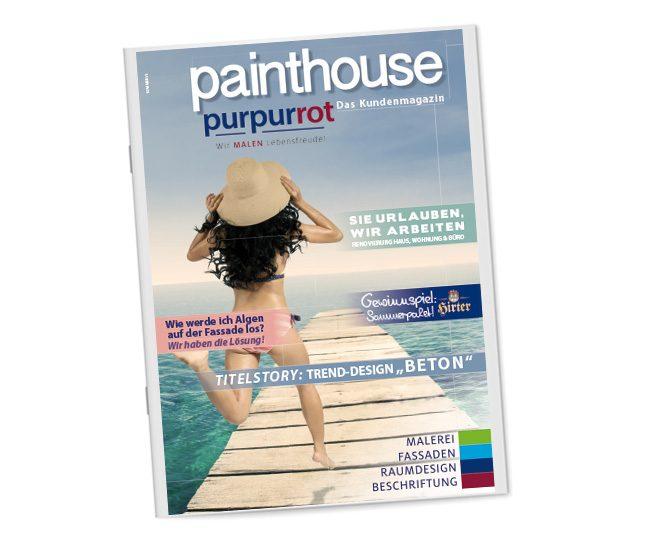 Zeitung; Painthouse; 8-seitig
